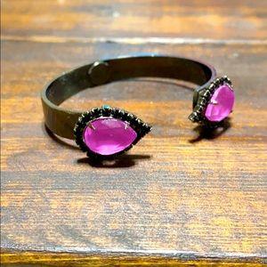Black & Purple Loren Hope Cuff